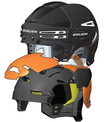 Bauer RE-AKT 75 casco nero (3)